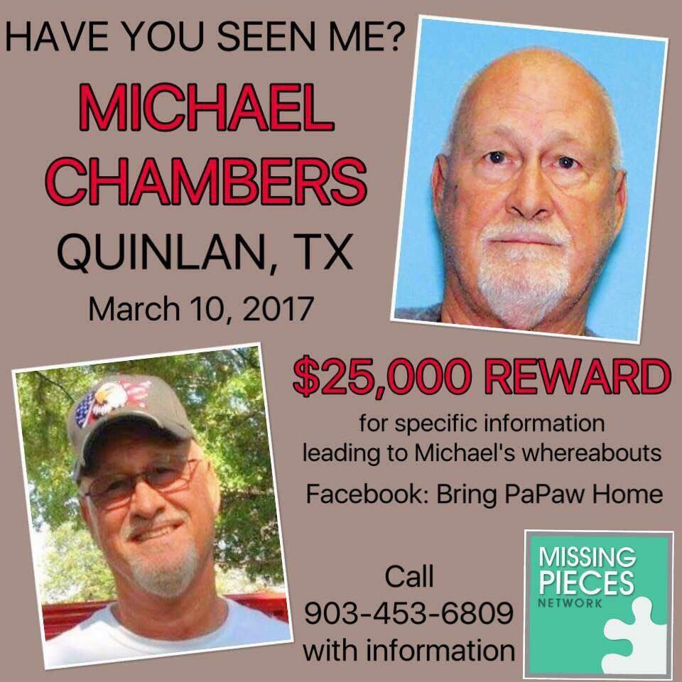 Michael Chambers missing